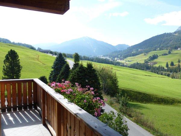 Foto del balcone Ciasa Nigritella