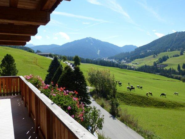 Photo of the balcony Ciasa Nigritella