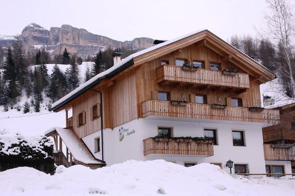 Foto invernale di presentazione Appartamenti Ciasa Nigritella