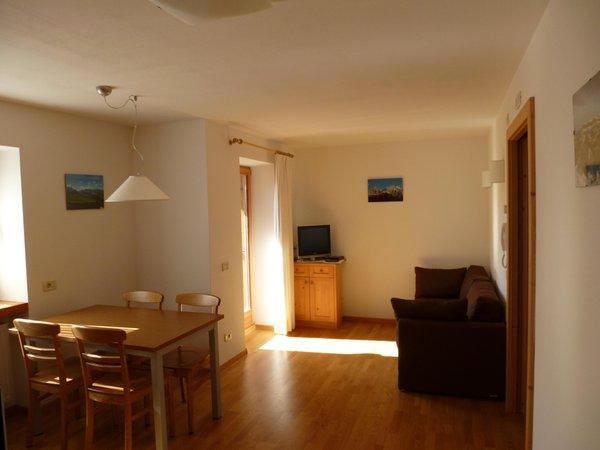 The living area Ciasa Nigritella - Apartments 3 suns