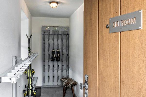 Der Skiraum Appartement Treffpunkt