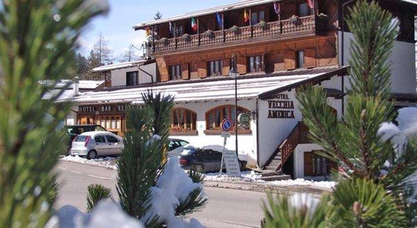 Foto invernale di presentazione Vecchia America - Hotel 3 stelle