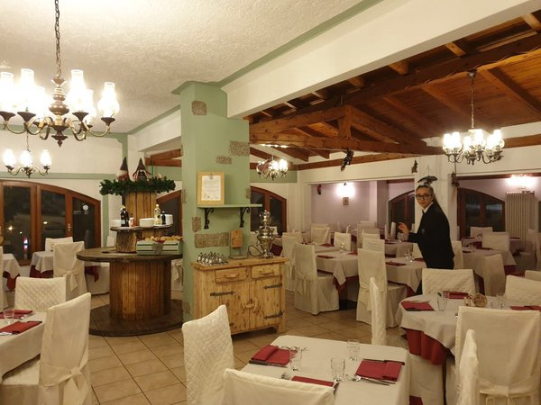 The restaurant Folgarida Vecchia America
