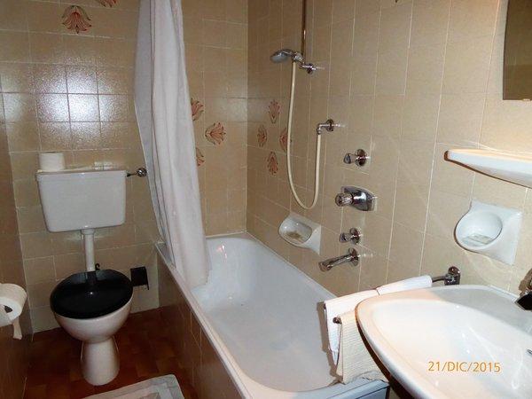 Foto del bagno Garni (B&B) Ciadin
