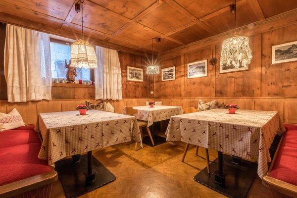 Il ristorante Corvara Ciadin