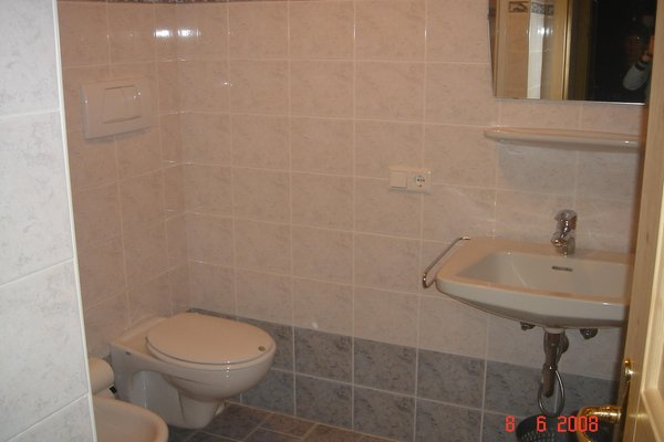 Photo of the bathroom Apartments Pitscheider Claudia