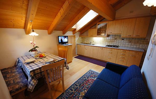 Foto della cucina Apartements Picenin
