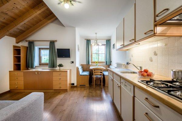 La zona giorno Appartamenti Plaön