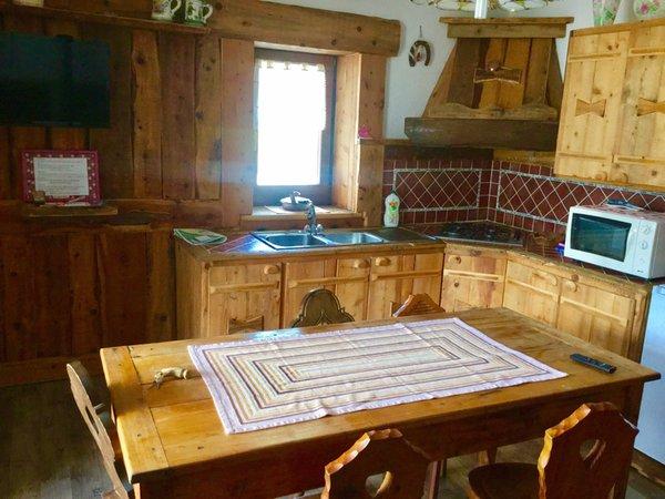 Foto der Küche Chèvres à cheval