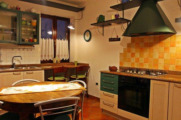 Foto der Küche Chez Mamosipiegy