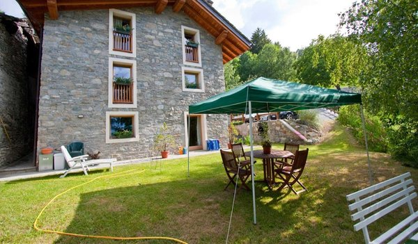 Foto vom Garten Pila (Aosta)