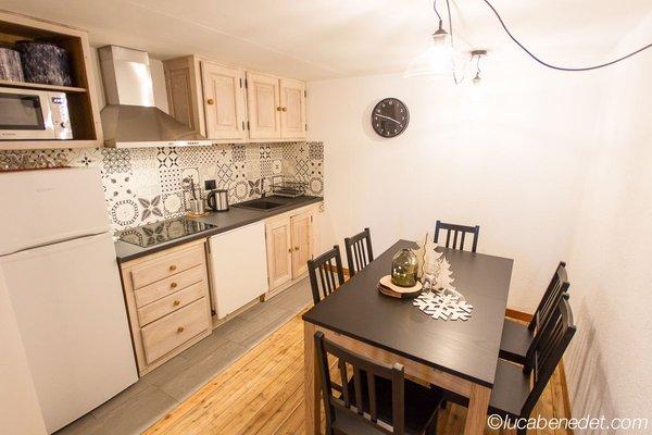 Foto der Küche Chalet Bethere