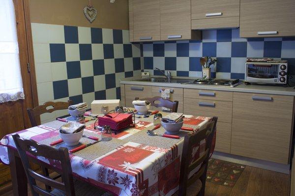 Foto della cucina Le Botteron