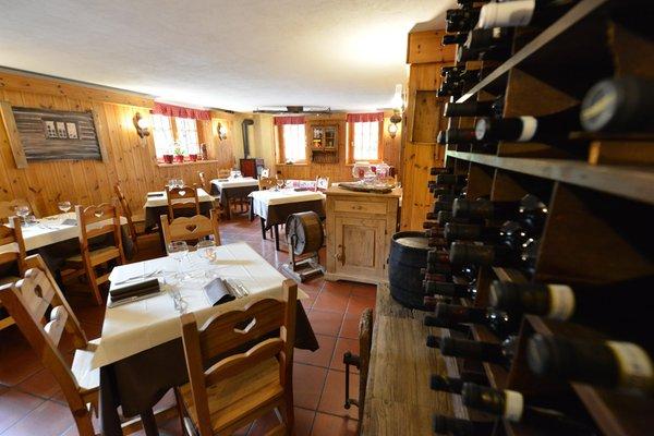 Il ristorante Cogne (Gran Paradiso) Petit Dahu