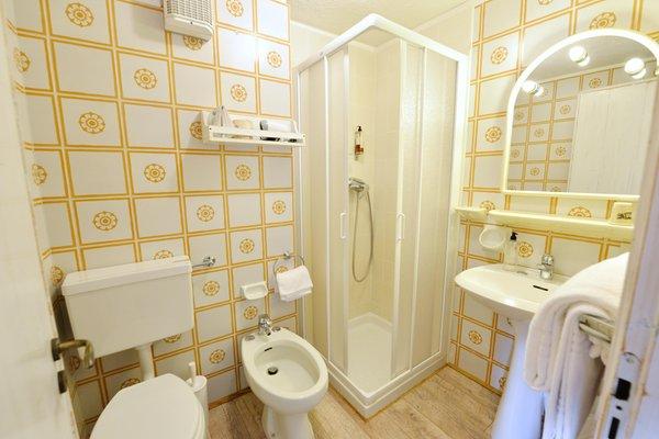 Foto del bagno Hotel Petit Dahu