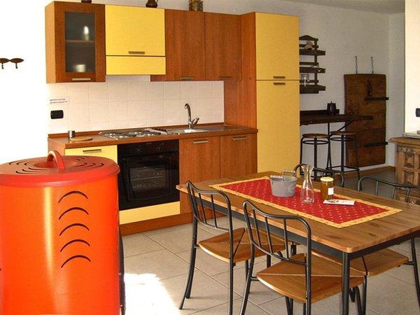 Der Wohnraum Ferienwohnungen 5 Laghi