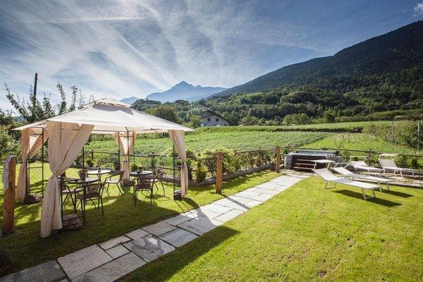 Foto vom Garten Jovençan (Aosta)