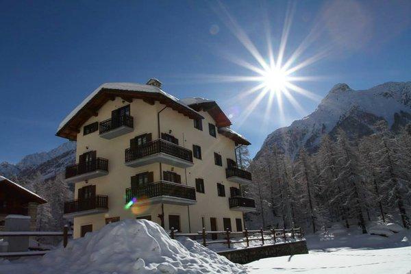 Foto invernale di presentazione Residence Luseney