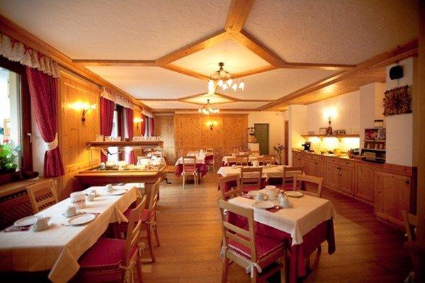 Il ristorante Courmayeur (Monte Bianco) Hotel La Vallée Blanche