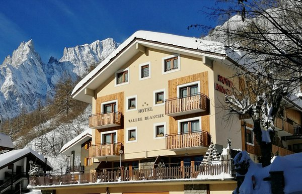 Foto invernale di presentazione Hotel La Vallée Blanche - Hotel + Residence 3 stelle