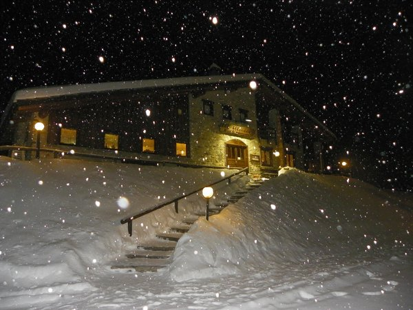 Foto invernale di presentazione Les Granges - Hotel 3 stelle