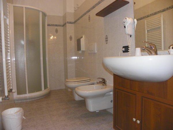 Foto del bagno Hotel Les Granges