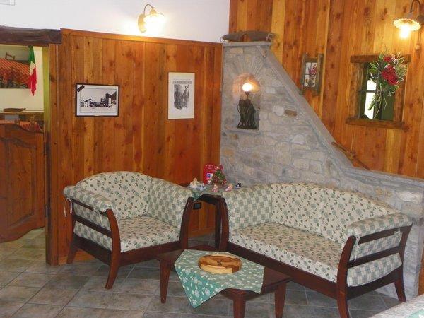 Le parti comuni Hotel Les Granges