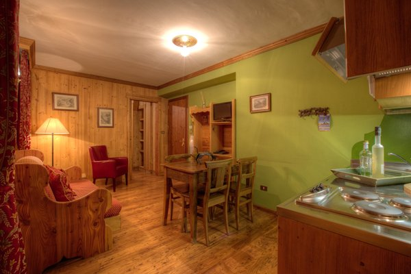 La zona giorno Checrouit - Residence 3 stelle