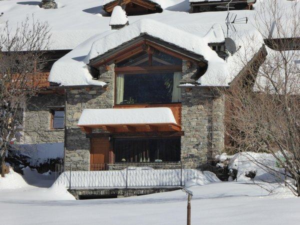 Foto invernale di presentazione B&B + Appartamenti Trois Couronnes
