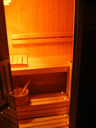 Photo of the sauna La Thuile
