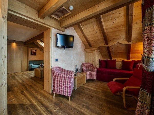 The living area Sertorelli Sport Hôtel - Hotel 4 stars sup.
