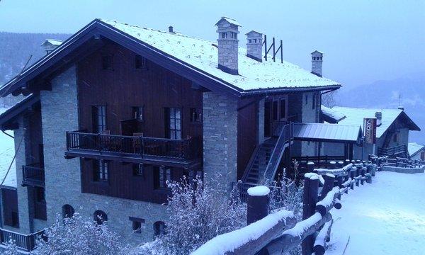 Foto invernale di presentazione Maison Cly - Hotel 4 stelle