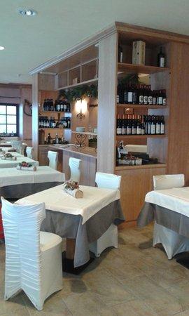 Il ristorante Chamois (Monte Cervino) Maison Cly