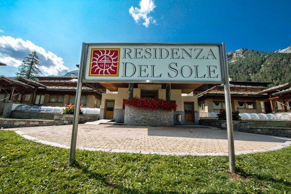 Foto Außenansicht im Sommer Residenza del Sole