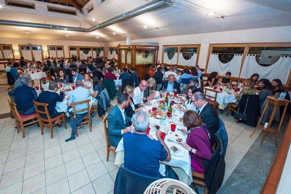 Das Restaurant Gressoney-Saint-Jean (Monte Rosa) Residenza del Sole
