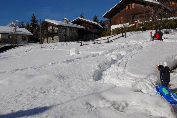 Foto esterno in inverno R.T.A. Foyer d'Antan e Dipendenza