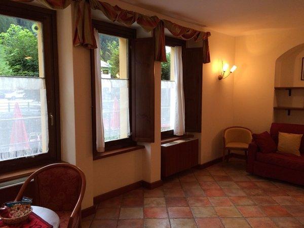 Der Wohnraum Residence Hôtel Monte Rosa