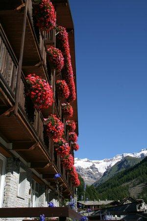 Photo exteriors in summer Monterosa