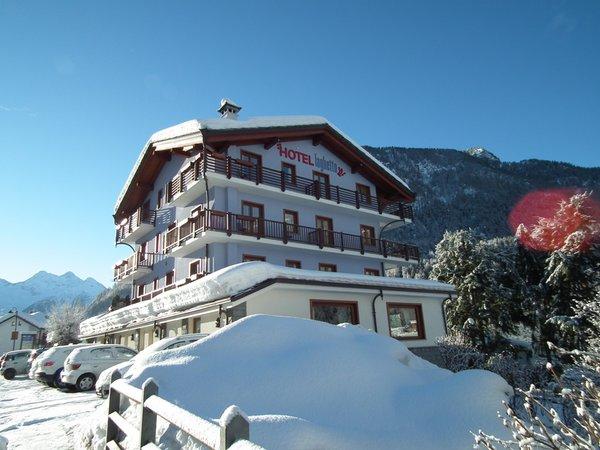 Foto invernale di presentazione Hotel Laghetto