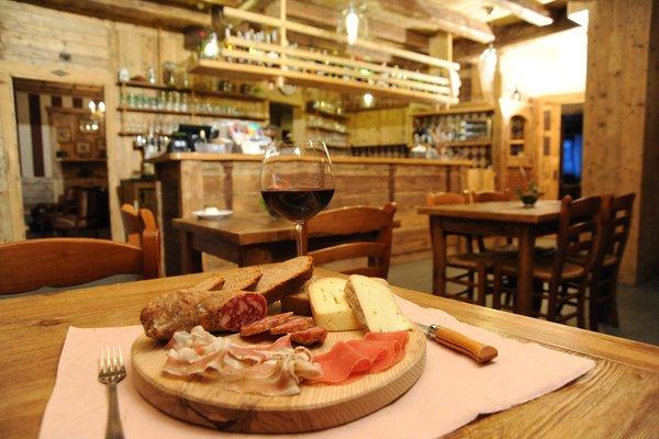 Il ristorante Brusson (Monte Rosa) Laghetto