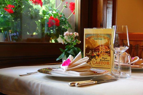 Il ristorante Champoluc/Ayas/Antagnod (Monte Rosa) Castor