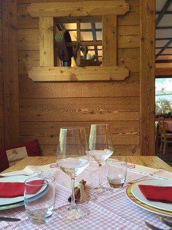 Il ristorante Gressoney-Saint-Jean (Monte Rosa) Alpenrose