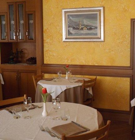 Il ristorante Brusson (Monte Rosa) Nord