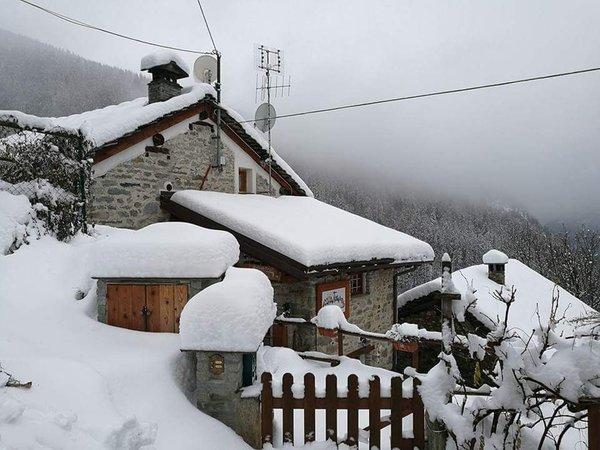 Foto invernale di presentazione Bed & Breakfast Mont Mars