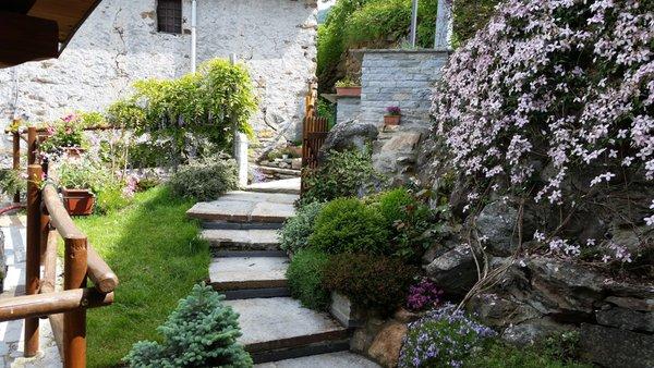 Foto del giardino Fontainemore (Valle Centrale)