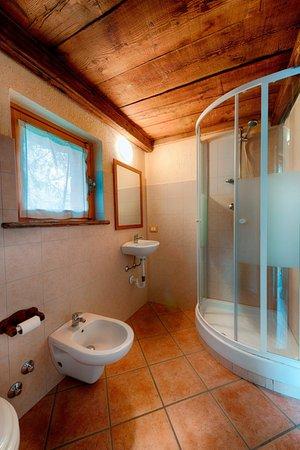Foto del bagno B&B + Appartamenti Clapeon