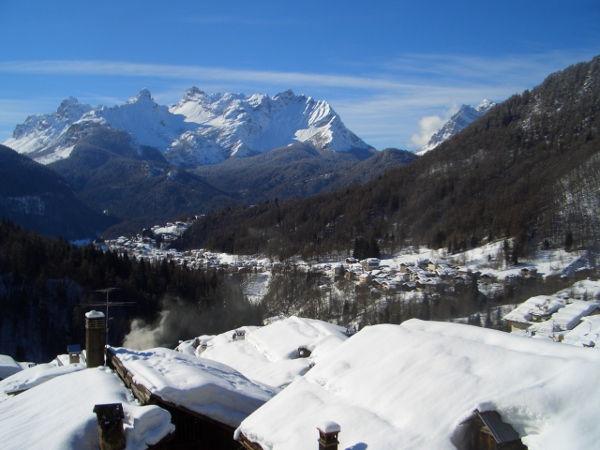 Aussicht Val di Zoldo - Fornesighe