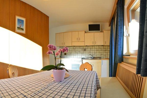 La zona giorno Appartamenti Rô Blancia