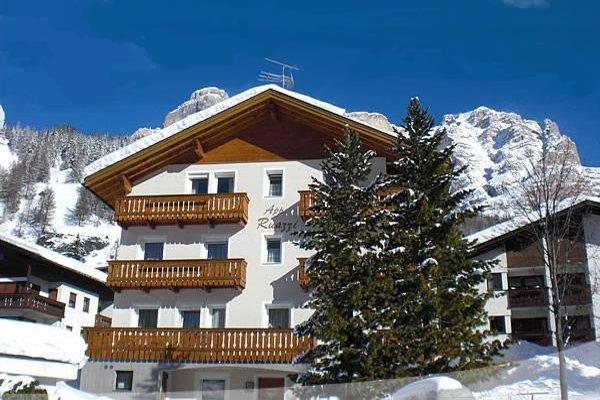 Foto invernale di presentazione Appartamenti Ruazzi