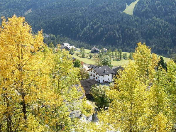 Position Farmhouse apartments Suracianins San Cassiano